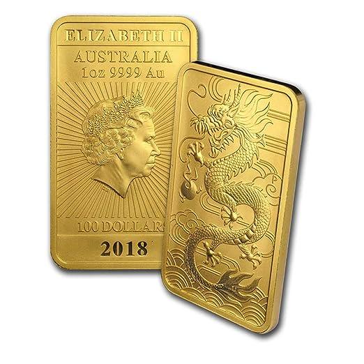 from mint roll 2018 Australia 1 oz Perth .9999 Silver Dragon /& Tiger