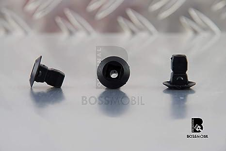 Original BOSSMOBIL kompatibel mit SPREIZMUTTER BEFESTIGUNG RADKASTEN STO/ßSTANGE KOTFL/ÜGEL F/ÜR UNIVERSAL #NEU# N90833801 16 X 12 X 7 x 7 mm Menge 20 St/ück