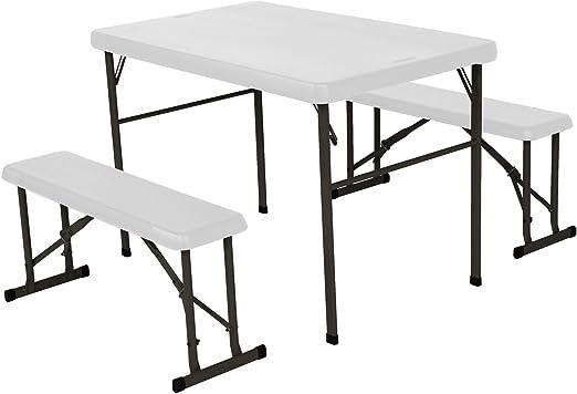 Lifetime table pliante camping & table de pique-nique 3 ...