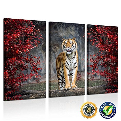 Kreative Arts Large Size 3 Piece Canvas Wall Art Painting Ti