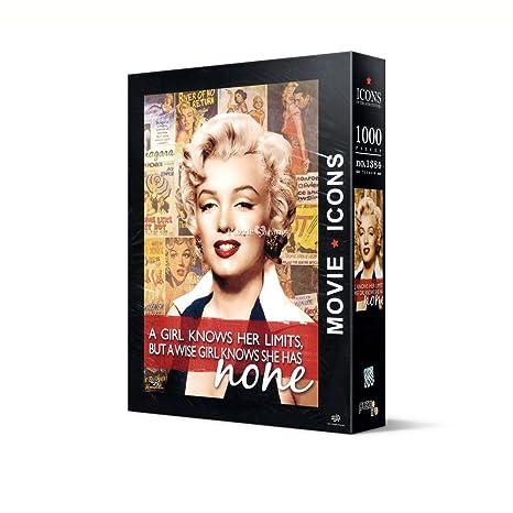Puzzle Life Marilyn Monroe - 1000 Piece Jigsaw Puzzle: Amazon.es: Juguetes y juegos
