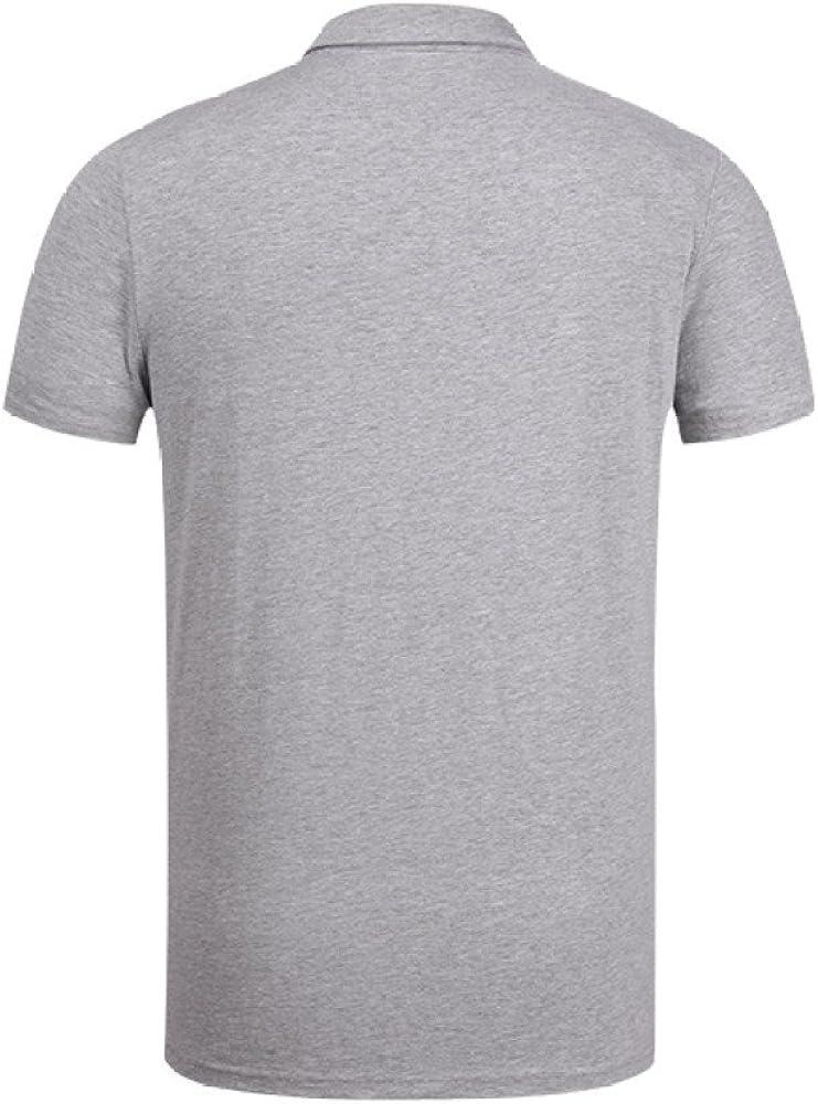 Camisetas De Polo para Hombre Camisas De Cuello Alto De Manga ...