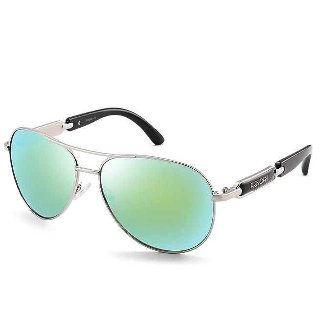 Amazon.com: FENCHI 7295 - Gafas de sol polarizadas clásicas ...