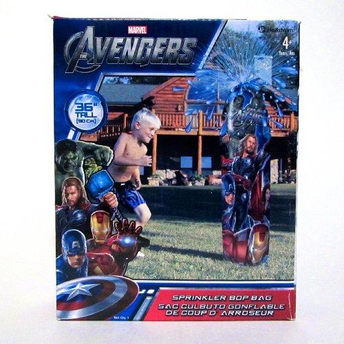Marvel Avengers Sprinkler Bop Bag