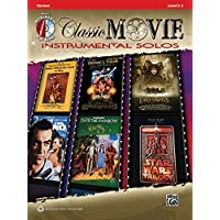 Classic Movie Instrumental Solos: Clarinet, Book and CD