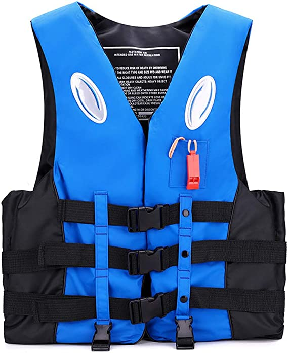 Adults Kids Life Watersport Vest Kayak Ski Buoyancy Aid Sailing Boating Jacket