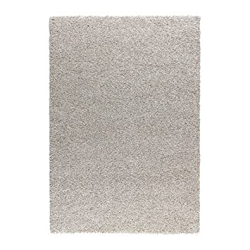 Ikea Alhede Rug High Pile Off White 133x195 Cm Amazoncouk