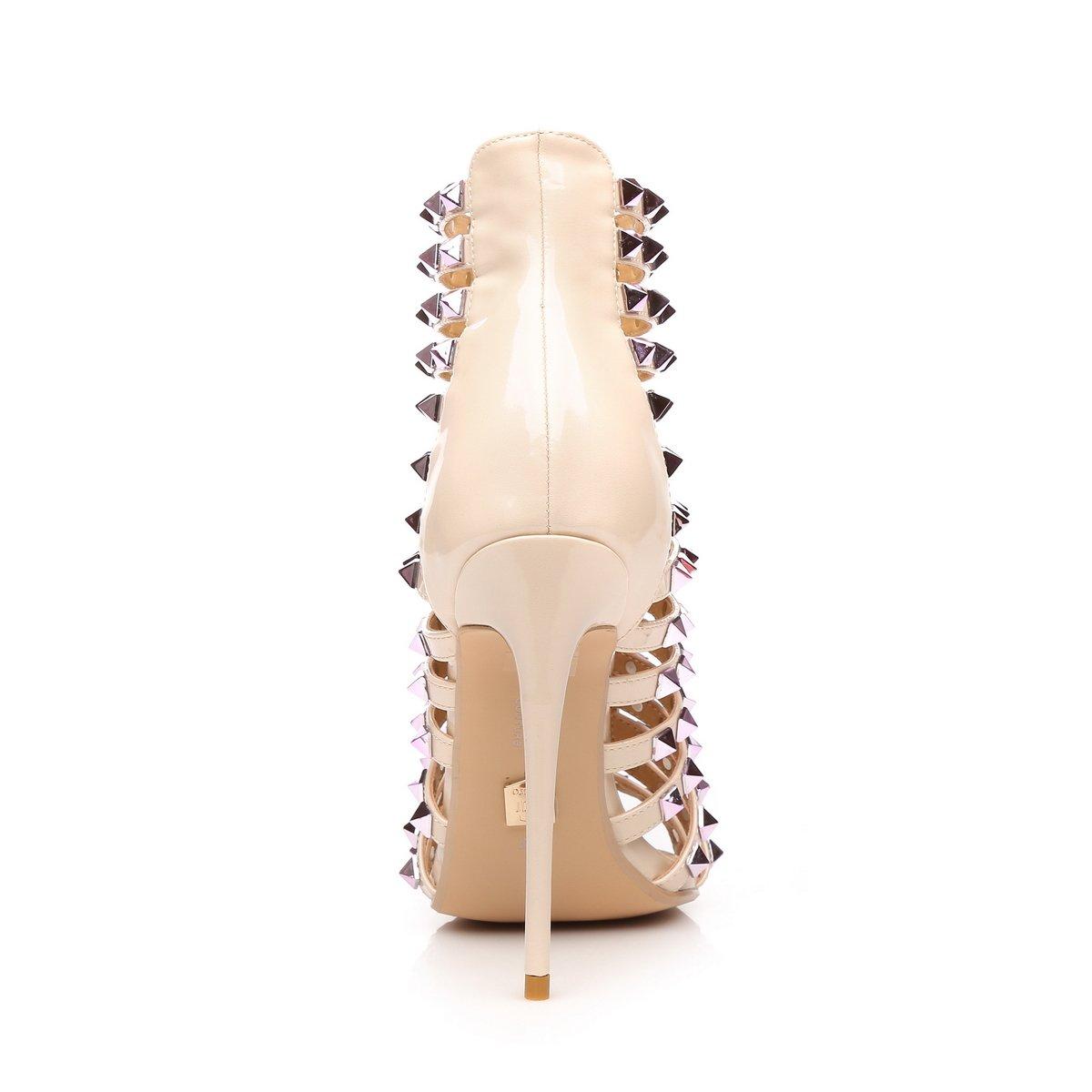 Giaro Sandaletten Sandaletten Sandaletten in Übergrößen Rosa Honduras Nude Rosa große Damenschuhe 43a6a3