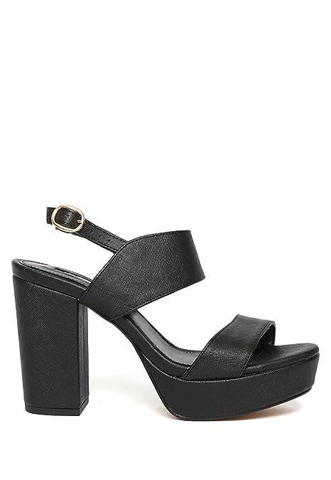 2106dcd5dfb Con Sandalia Negra Para Calzado Efe Mujer Plataforma 5Ptw5q1x