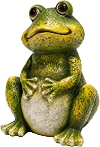 BRECK'S Frog Statue - This Adorable Frog Will Watch Over Your Garden