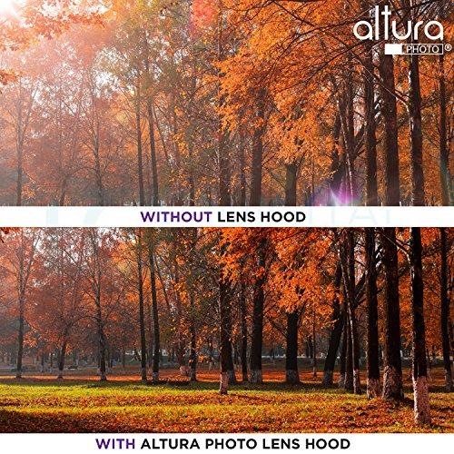(Reemplazo Canon EW-63C) Capucha para lente de foto Altura para Canon EF-S 18-55mm f /3.5-5.6 es lente STM