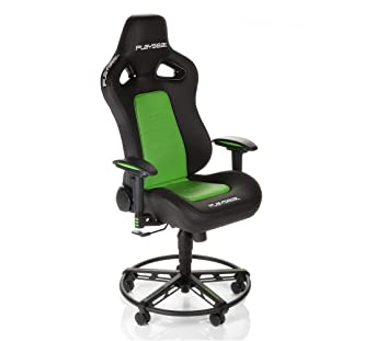 Stupendous Playseat L33T Gaming Chair Green Ps4 Amazon Co Uk Pc Theyellowbook Wood Chair Design Ideas Theyellowbookinfo