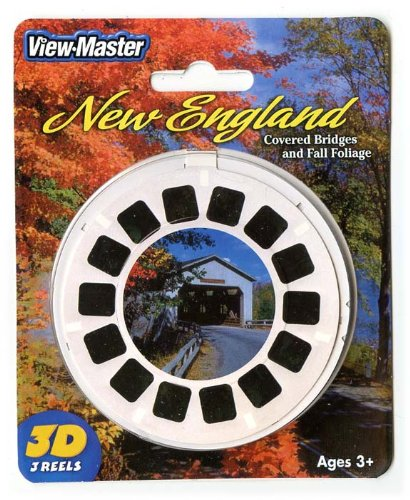 New England Covered Bridges & Fall Foliage - ViewMaster 3 Reel set