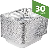 Aluminum Foil Steam Table Pans, Half Size Deep,...