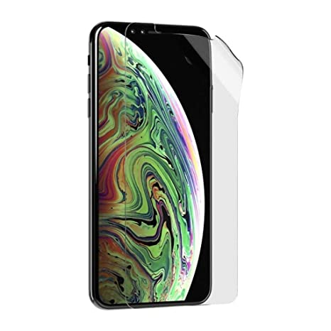 buy popular 968eb 8307a Tech21 Impact Shield Screen Protector with Self-Heal Screen Protector for  Apple iPhone X/XS, Transparent