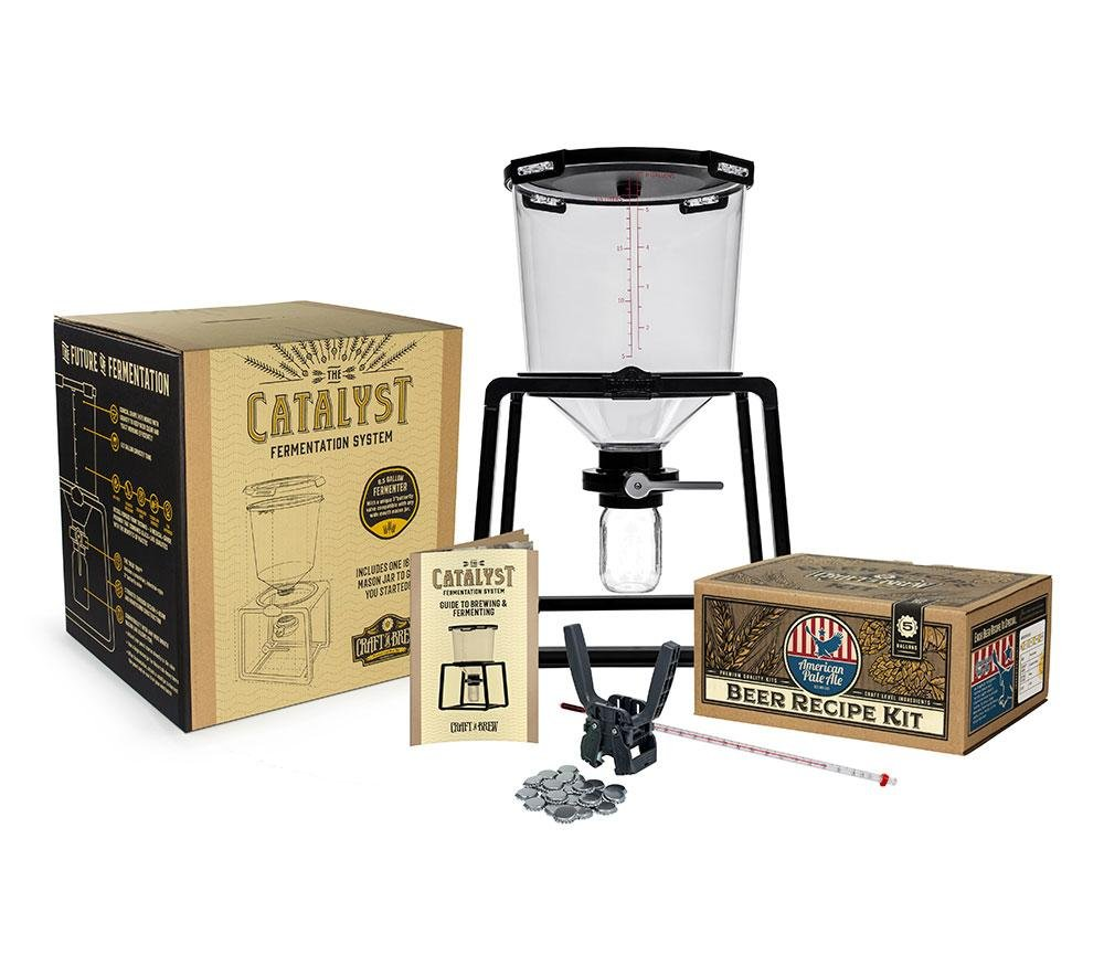 The Catalyst Starter Kit, Craft a Brew, Premium Beer Brewing Starter Kit, Tritan