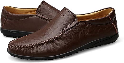 Handmade Genuine Leather Men Flats