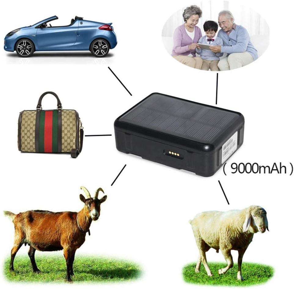 Balscw-Z Perseguidor del GPS del Coche 9000Mah Impermeable gsm GPS WiFi Seguimiento de la Voz Alarma Anti-demolición SOS para automóviles/niños/Ancianos/Ganado y ovejas