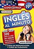 Inglés en 100 días - Inglés al minuto - Audio Pack (Libro + 4 CD's Audio)