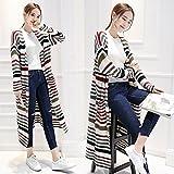 Autumn's new half-open collar Cardigan women's long sweater coat fashion slim Korean easing Han Fan , picture color