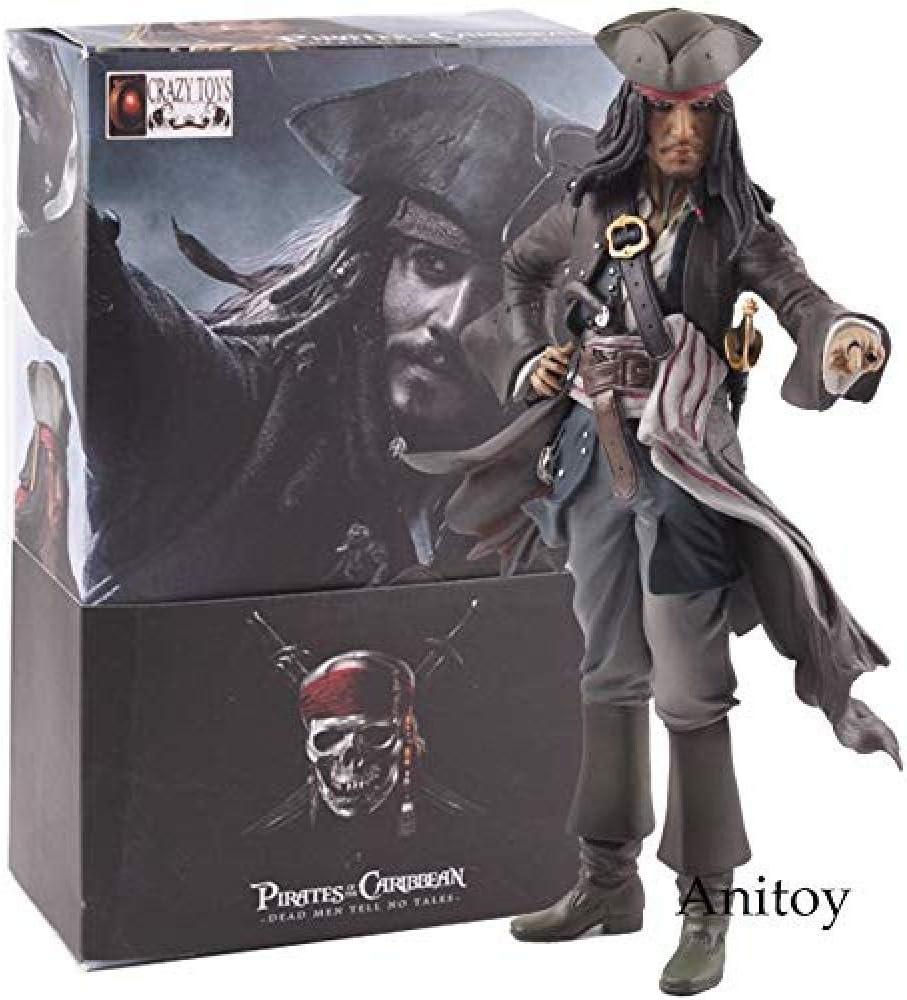 Yida Crazy Toys Piratas del Caribe Los Hombres Muertos no cuentan ...
