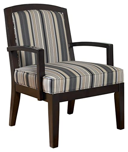 Ashley Furniture Signature Design - Yvette Showood Accent Chair - Upholstered - Contemporary Living - Black  sc 1 st  Amazon.com & Amazon.com: Ashley Furniture Signature Design - Yvette Showood ...