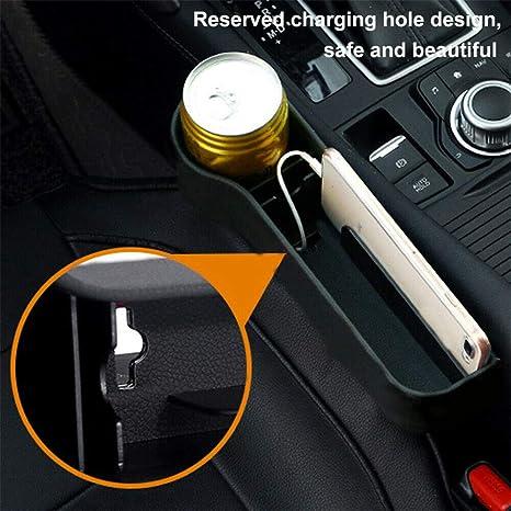 BYWWANG 2X Sac de Rangement pour Voiture Bo/îte Si/ège de Voiture Pocket Seat Space Store