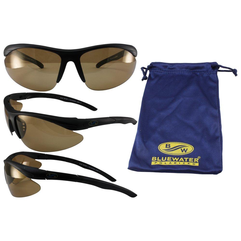 Bluewater Islander 24 polarizadas gafas de sol Negro Marcos ...