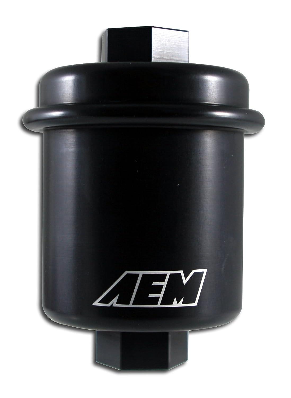 AEM 25-200BK Black High Volume Fuel Filter