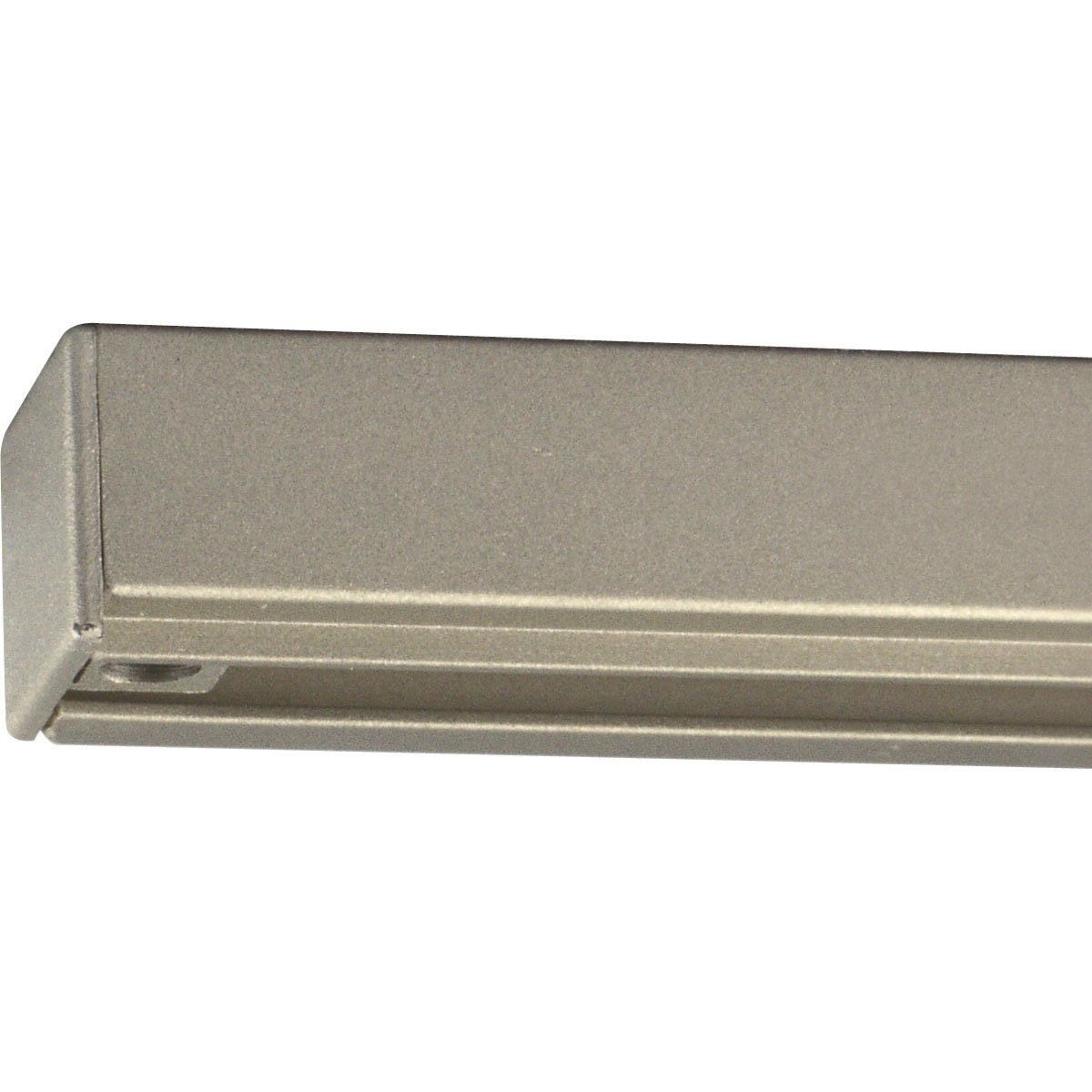 Progress Lighting P9106-09 Alpha Trak 12 Foot Section, Brushed Nickel