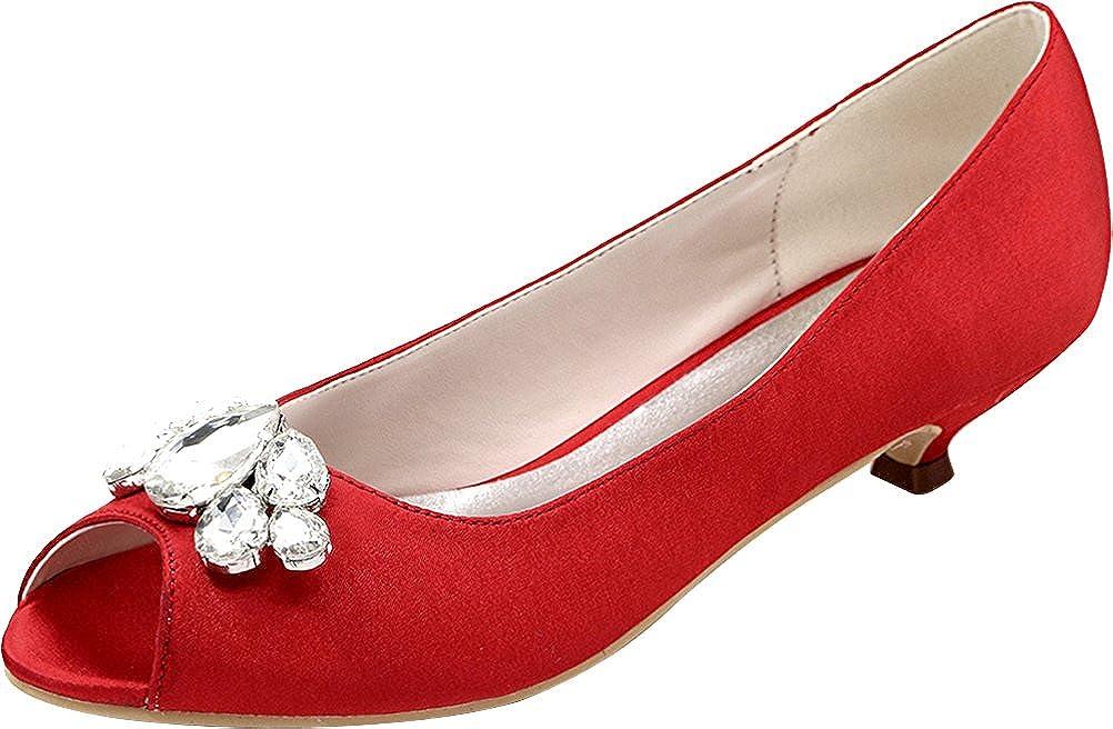 CFP ,  Damen - Peep-Toe, Rot - Damen rot - Größe: 37 - 615a68