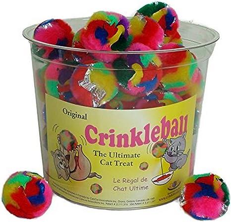 Cancor Innovations Jumbo Crinkle Ball Cat Toy