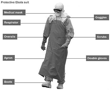 Amazon.com: Equipo de protección personal con traje y tamaño ...