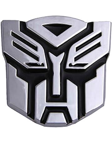 Dodolive - Cubierta para auto decoración, emblema de Autobot Transformers de metal 3D