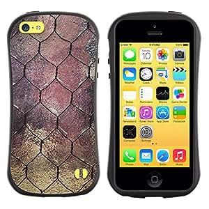 Suave TPU GEL Carcasa Funda Silicona Blando Estuche Caso de protección (para) Apple Iphone 5C / CECELL Phone case / / Window Design Wire Architecture /