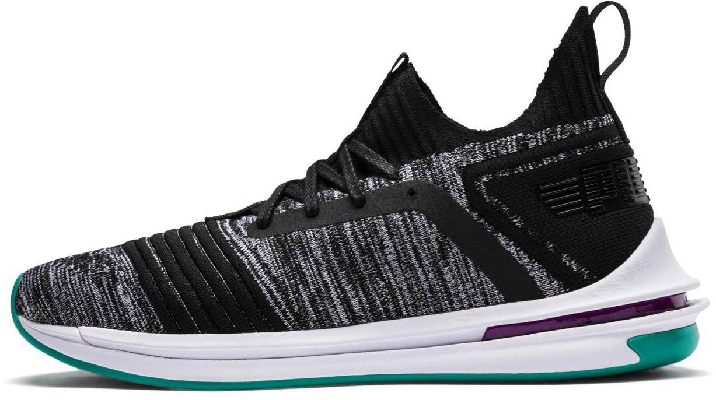 PUMA Men's Ignite Limitless Sr Evoknit Sneaker B077T17Q9G 10.5 M US|Puma Black-spectra Green