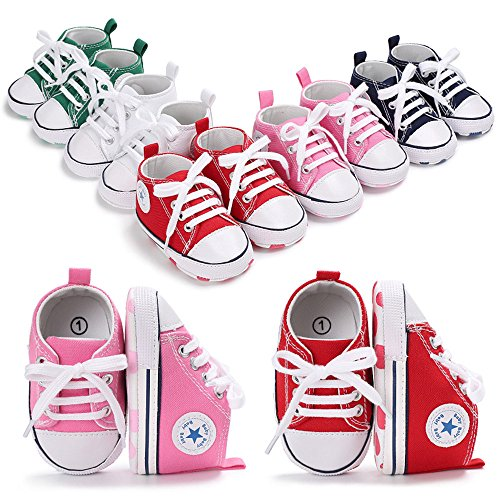 Save Beautiful Toddler Baby Girls Polka Dots Shoes Infant First Walkers (0-6months, Pink2)