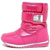 キッズブーツ 子供靴 シューズ ウインターブーツ スノーブーツ 防寒 雪 スキー 防水 男の子 女の子