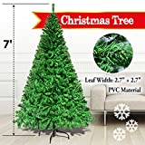 7 GREEN 210CM NEW Classic Pine Christmas Tree Artificial Realistic Natural Branches-Unlit