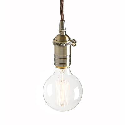 Pathson Métal Retro Suspension Luminaire Industrielle Vintage