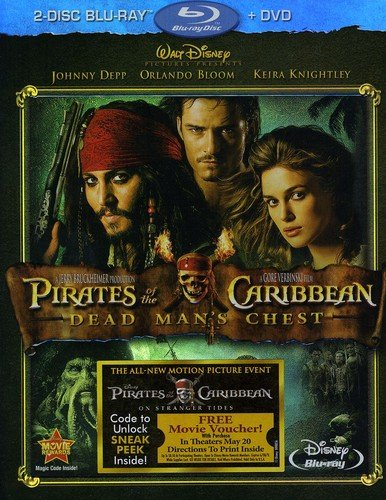 Pirates of the Caribbean: Dead Man's Chest [Blu-ray] (Target Games Ds)