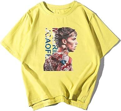 Madrid Numero 7 Fútbol Camiseta Algodón Verano Capa Ventilador Regalo Ídolo João Félix Lindo/amarillo/XXL: Amazon.es: Bricolaje y herramientas