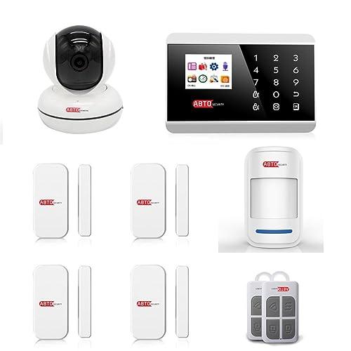 SZABTO Wireless Home Alarm System With IP Camera (K)