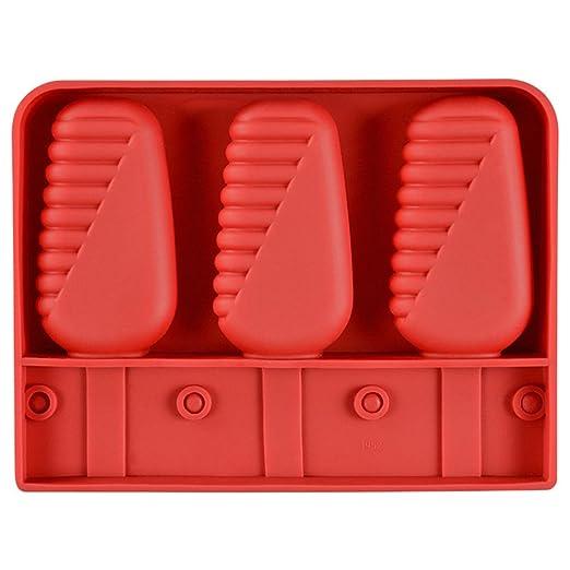 Compra LEAMALLS 3 Piezas Helados Molde Silicona congelador Moldes ...