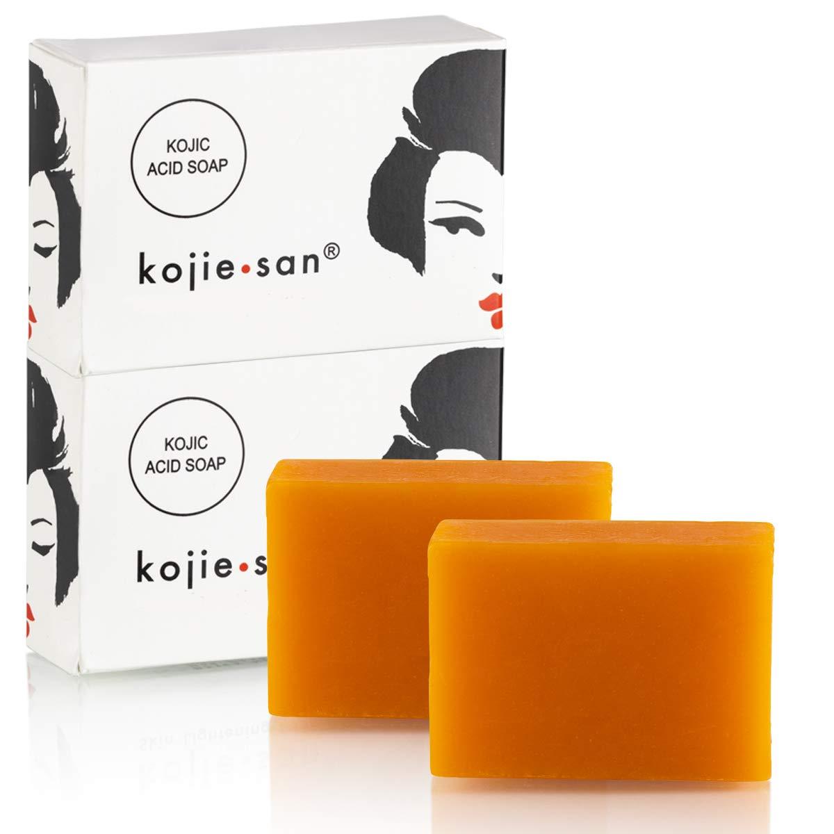 Whitening soap by kojie san skin lightening kojic acid soap (2 bar 135g)