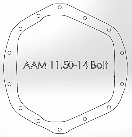 aFe Power 46-70012 Rear Differential Cover for GM Duramax/Dodge Cummins  AA-14-11 5