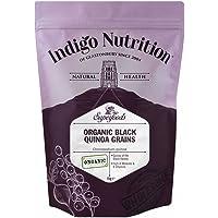 Indigo Herbs BIO Schwarze Quinoa Körner 1kg