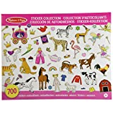 Melissa & Doug Sticker Collection Book: 500+ Stickers - Princesses, Tea Party, Animals, and More