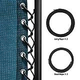 Keten Elastic Cord for Zero Gravity Reclining Garden Sun Lounger Chairs (Black)