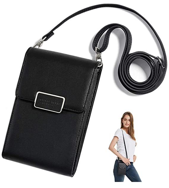 23dc7da2 SINIANL Crossbody Bag Handbag Clutch Mini Cell Phone Pocket Pouch ...